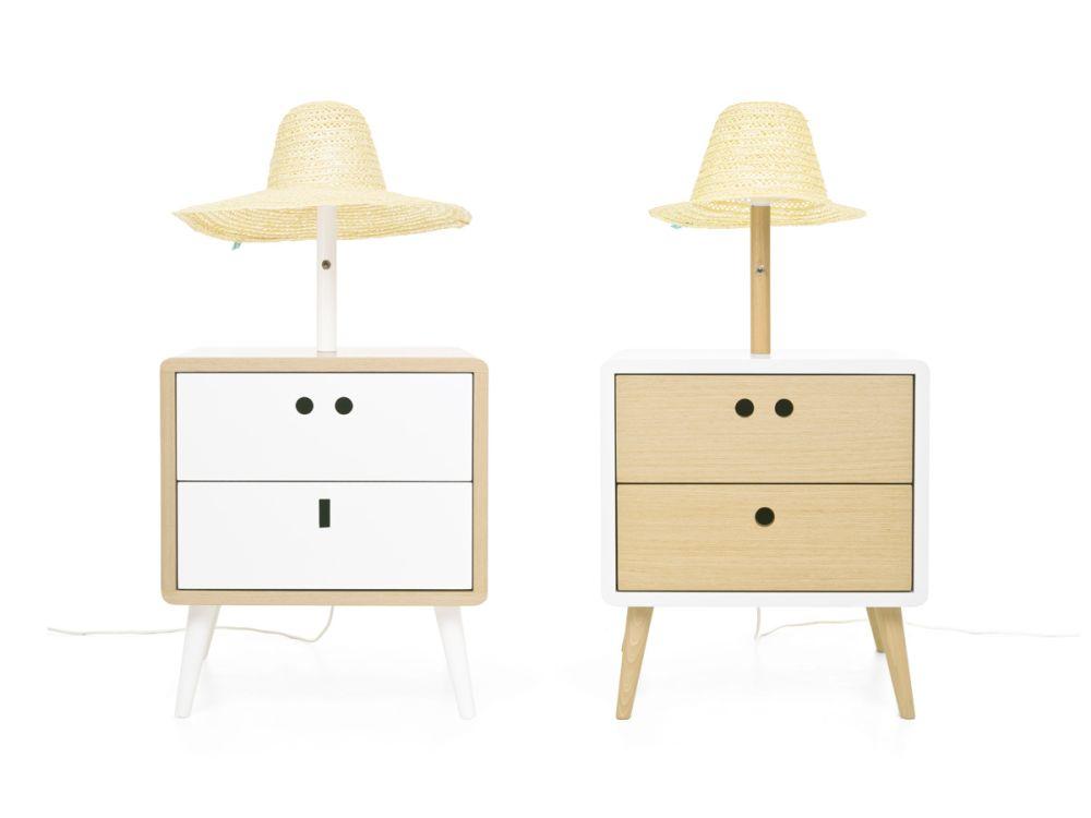 Mariaand Nel bedside table / Standard