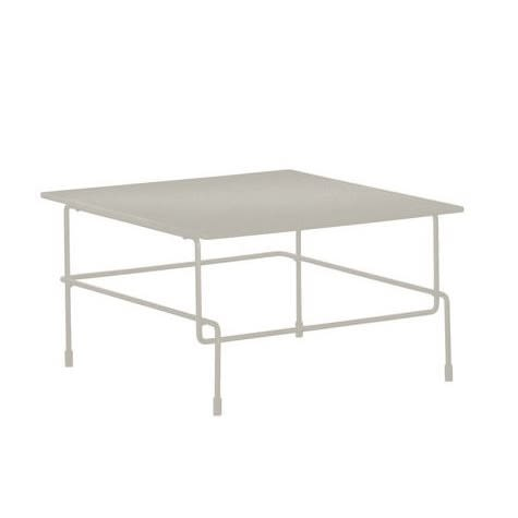 White Frame and Top, Indoor,Magis,Coffee & Side Tables,coffee table,furniture,outdoor table,rectangle,table