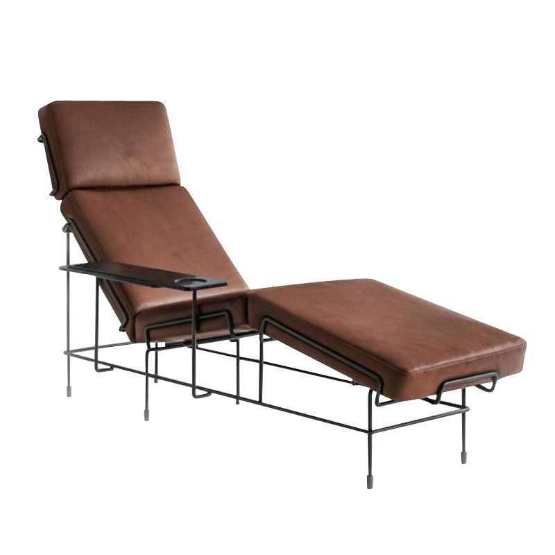 White 5011, Steelcut Trio 2 533,Magis Design,Lounge Chairs,brown,chair,chaise longue,couch,furniture,outdoor furniture,sunlounger