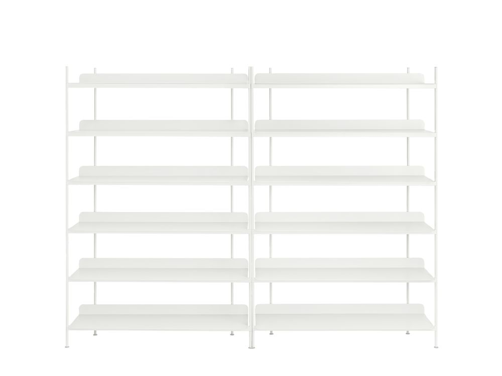 Configuration 8, Black,Muuto,Bookcases & Shelves,furniture,line,shelf,shelving