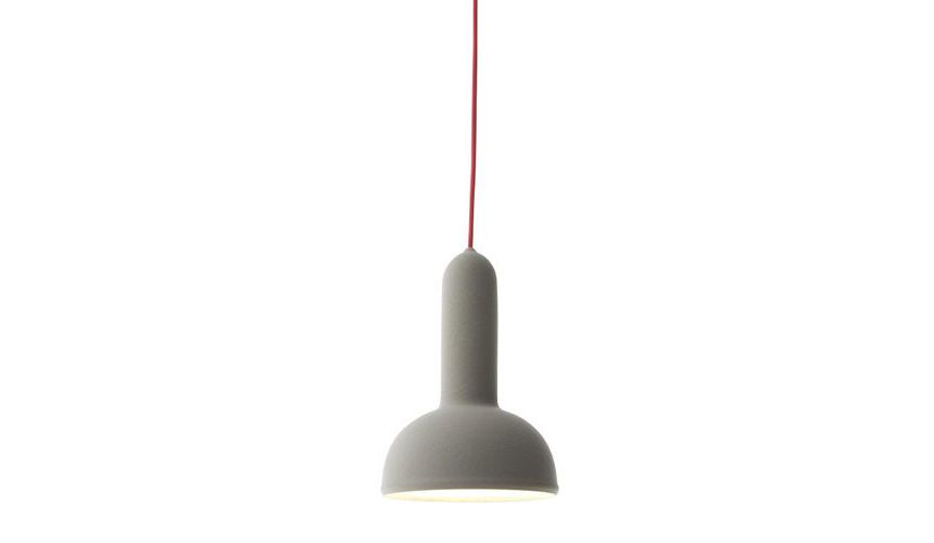 Black Shade with Black Cable,Established & Sons,Pendant Lights,lamp,light fixture,lighting