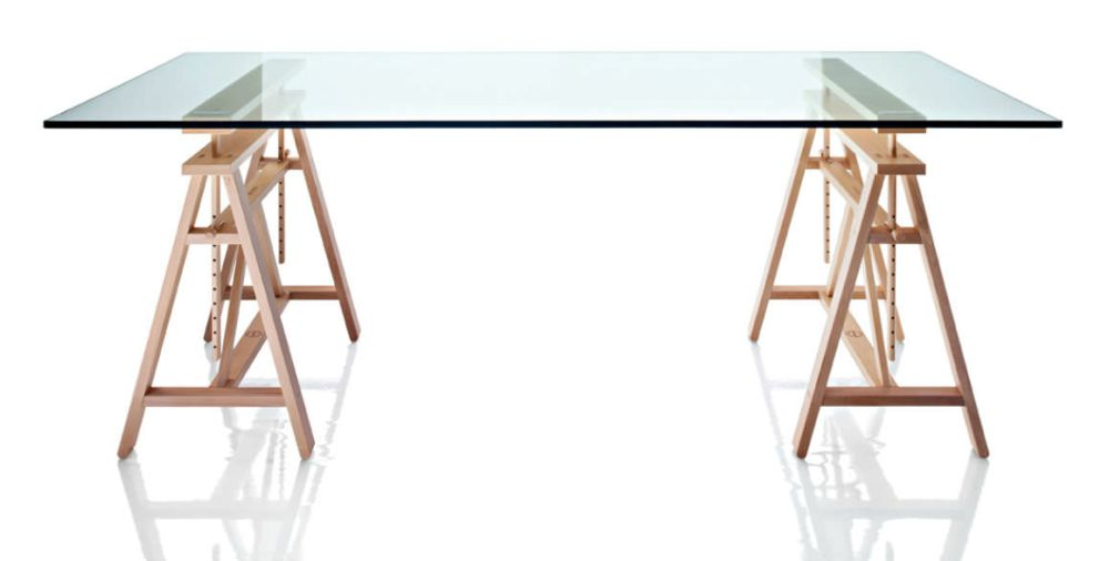 MDF Top,Magis Design,Dining Tables,desk,furniture,line,outdoor table,rectangle,table