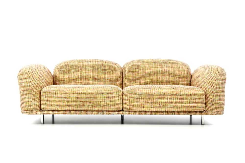 Bouclé Black White,MOOOI,Sofas,armrest,beige,chair,couch,furniture,loveseat,outdoor furniture,outdoor sofa