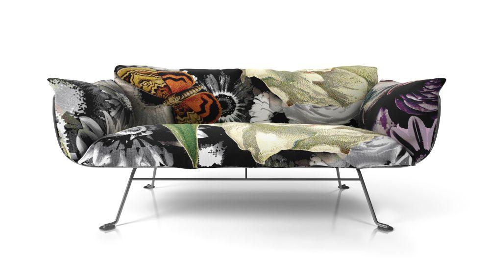 Moooi Grey Silver, Macchedil Grezzo Black indigo,MOOOI,Sofas,couch,furniture,sofa bed,table