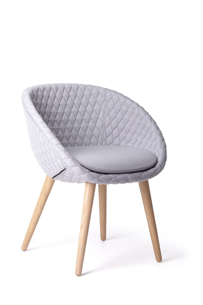 Moooi Black Stained, Bouclé Moooi Black Stained White,MOOOI,Dining Chairs