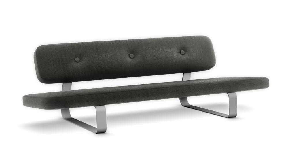 Abbracci Black,MOOOI,Sofas,bench,furniture,table