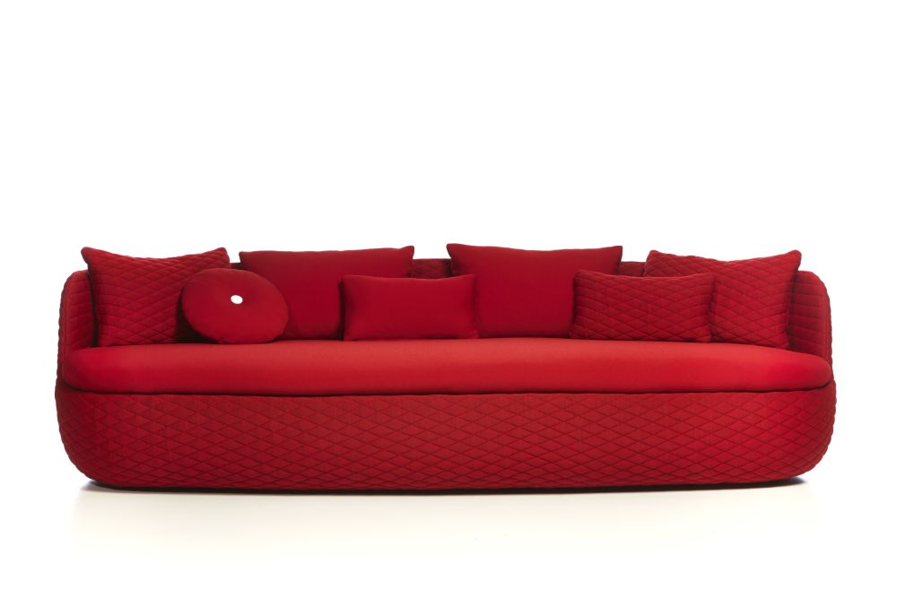 Abbracci Black,MOOOI,Sofas,couch,furniture,red,sofa bed,studio couch