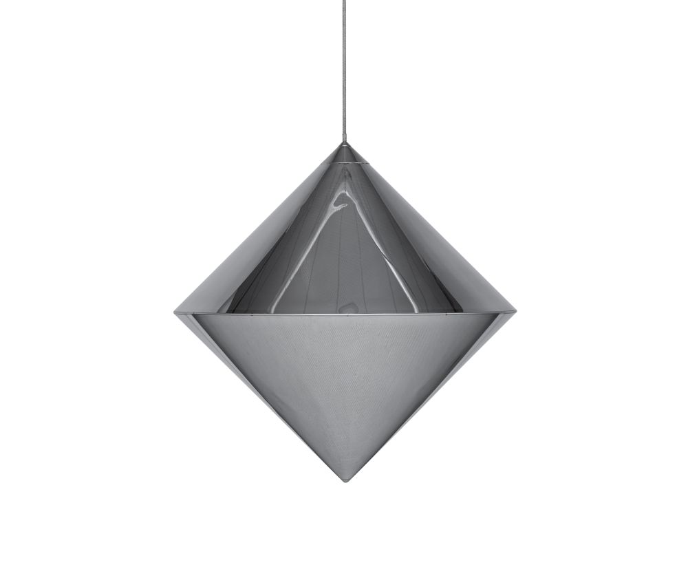 Top Silver Pendant Light by Tom Dixon
