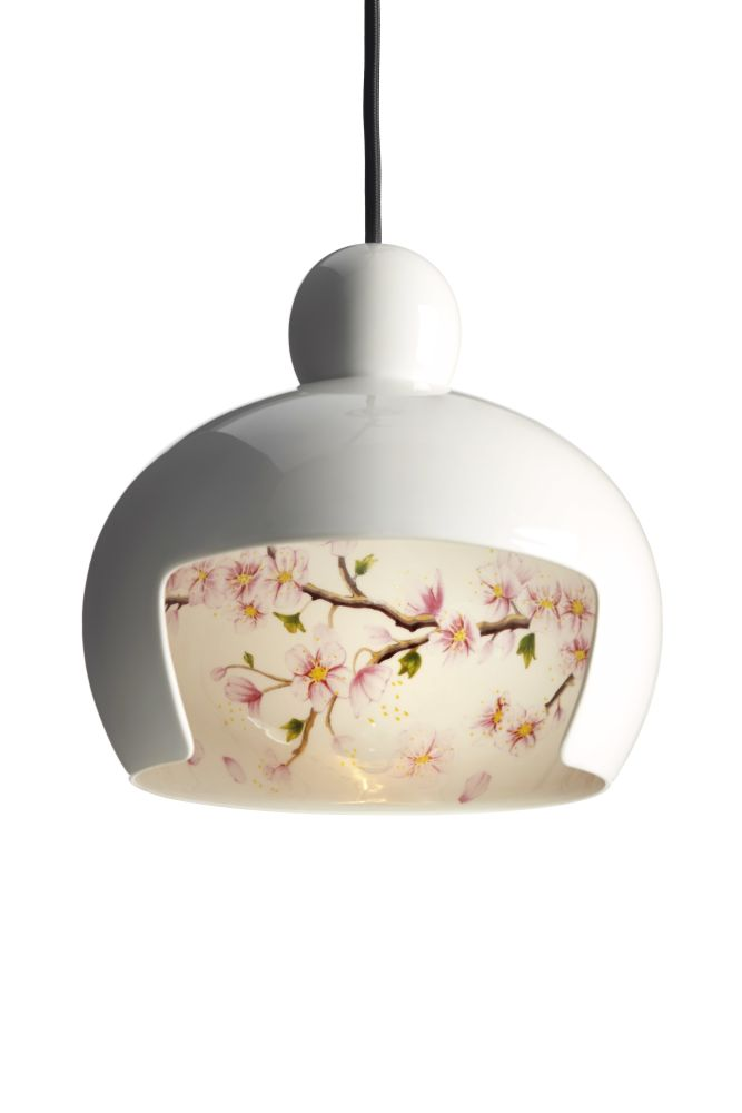 Juuyo Koi Carp Tattoo,MOOOI,Pendant Lights,blossom,ceiling,ceiling fixture,lamp,light fixture,lighting,plant,white