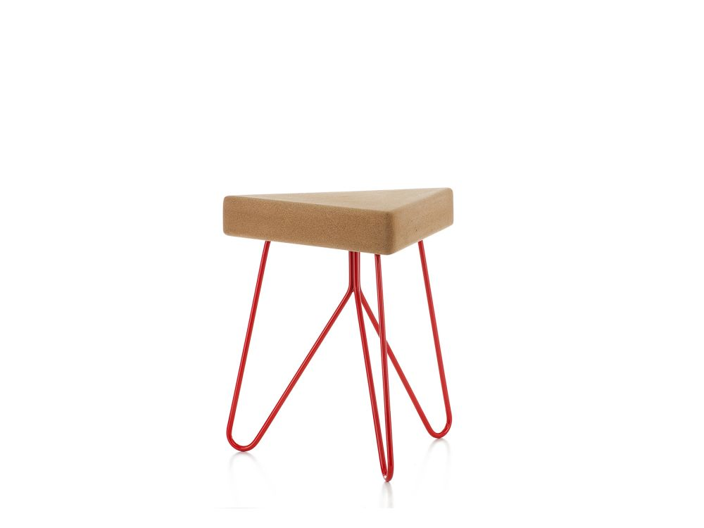 Dark Cork with Grey Legs,GALULA,Stools,furniture,stool,table