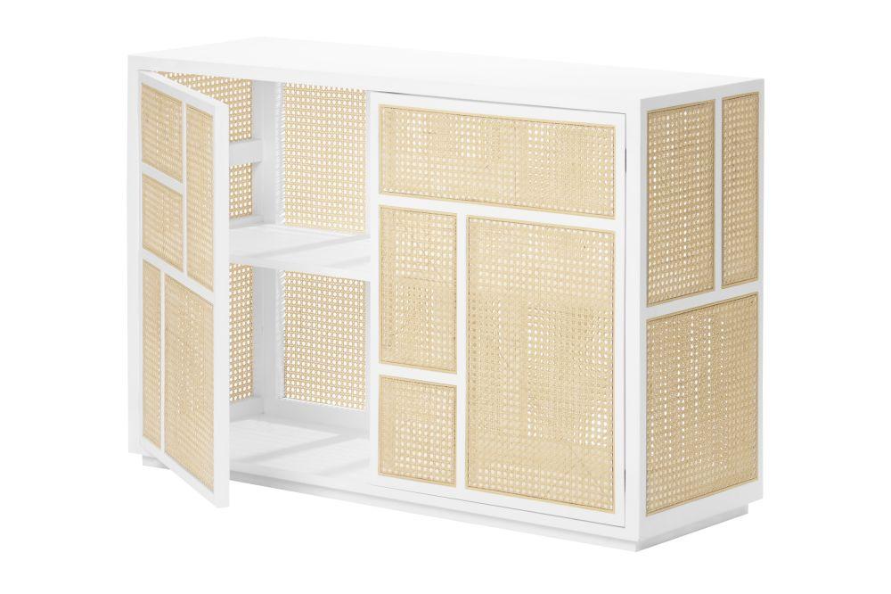 White,Design House Stockholm,Cabinets & Sideboards,beige,furniture,shelf