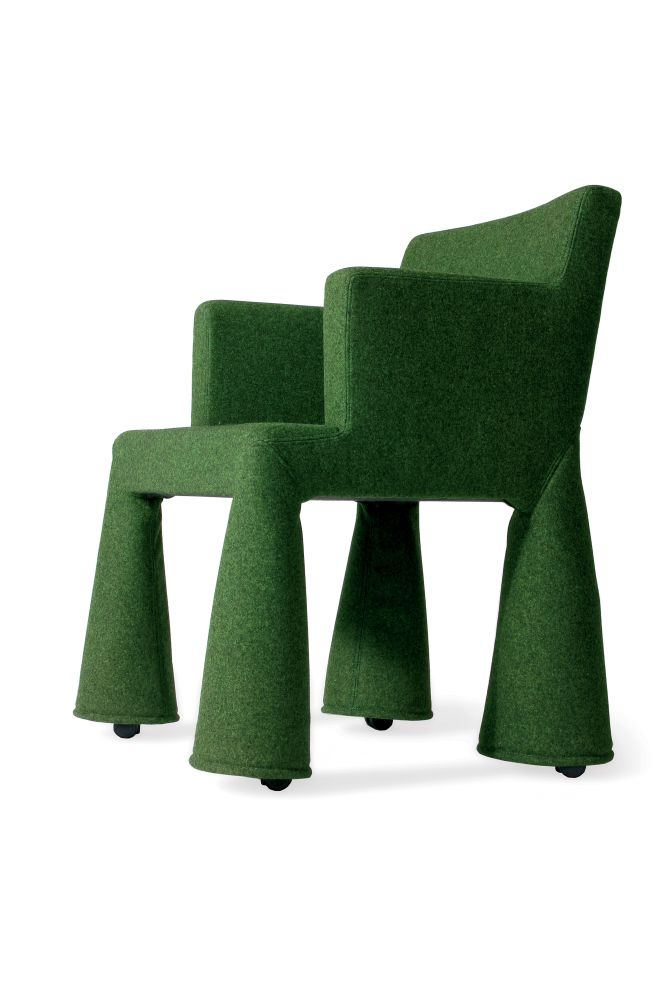 Divina 3 106,MOOOI,Dining Chairs,chair,furniture,green,table