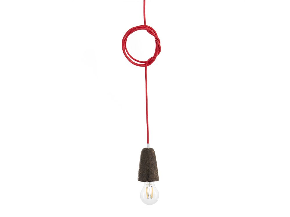 Light Cork and Yellow Wire,GALULA,Pendant Lights,light fixture,product