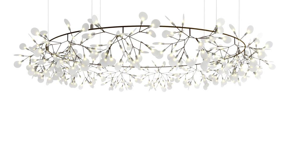 Moooi Heracleum Copper, 10m Cable Length,MOOOI,Pendant Lights,ceiling,ceiling fixture,chandelier,light fixture,lighting