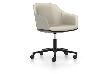 Softshell Chair Five Star Base by Vitra