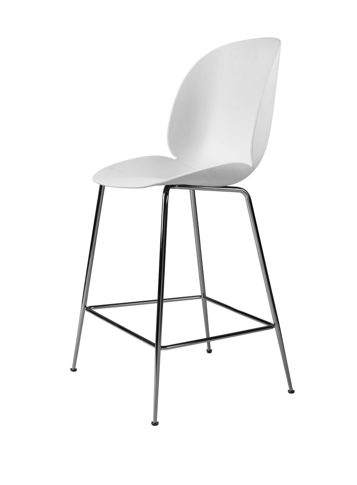 Beetle Counter Chair - Un-upholstered by Gubi