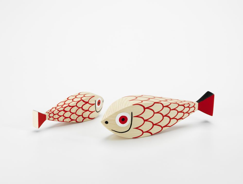 Wooden Doll With Metal Weight by Vitra