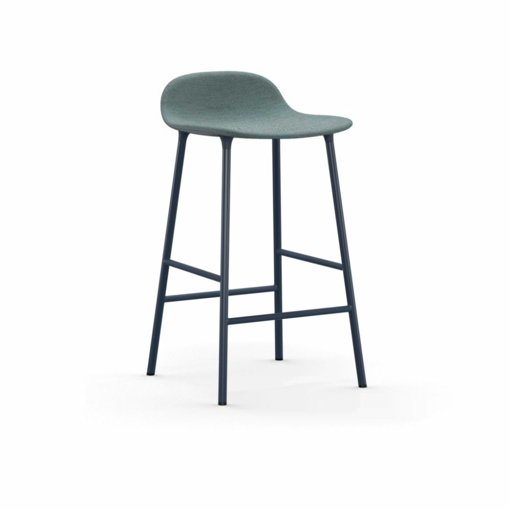 Form Barstool - Fully Upholstered by Normann Copenhagen