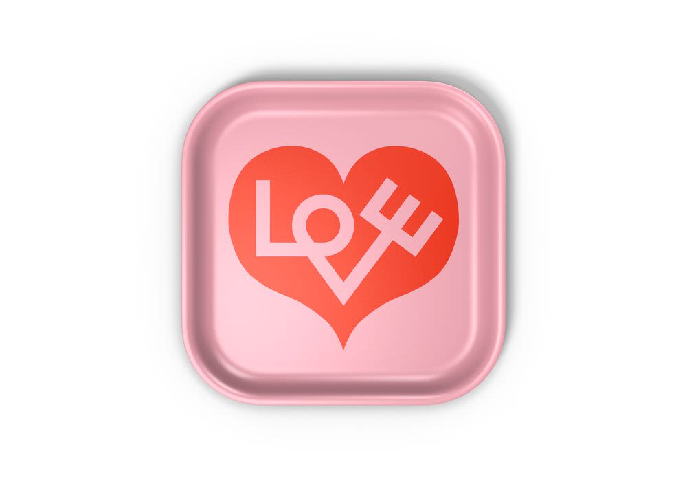 Love Heart Classic Tray by Vitra