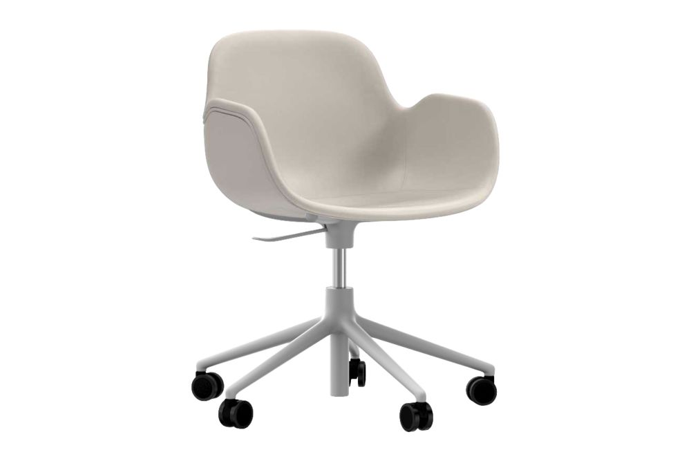 Fame 60078, Aluminium,Normann Copenhagen,Armchairs,chair,furniture,line,material property,office chair,product,white