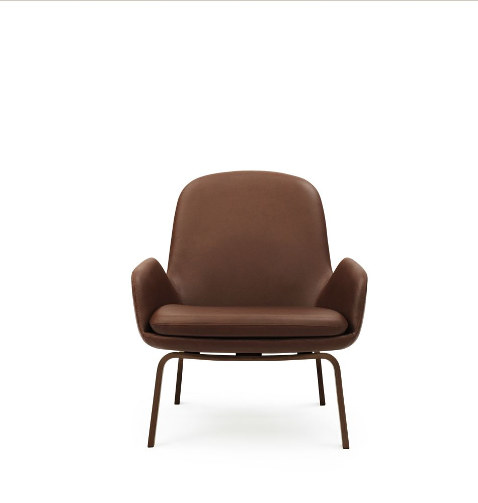 Sørensen Ultra Leather Black Brown - 41590, Walnut,Normann Copenhagen,Lounge Chairs,brown,chair,furniture,leather