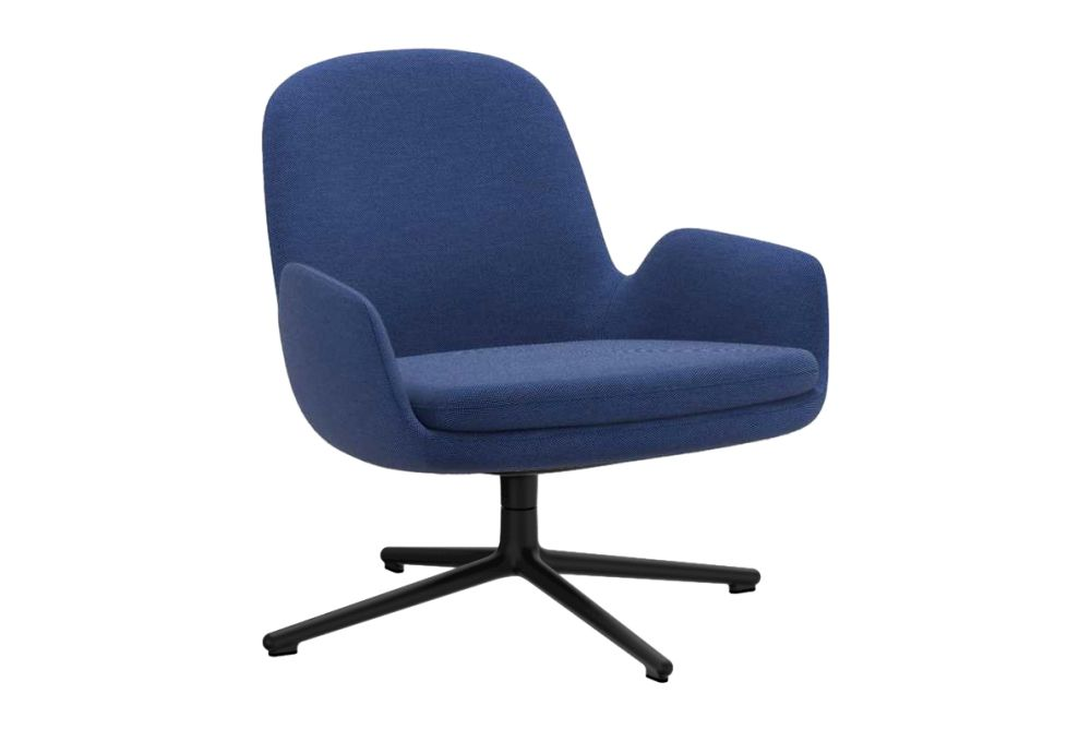 Fame 60078, NC Aluminium,Normann Copenhagen,Lounge Chairs,chair,cobalt blue,electric blue,furniture,line,office chair