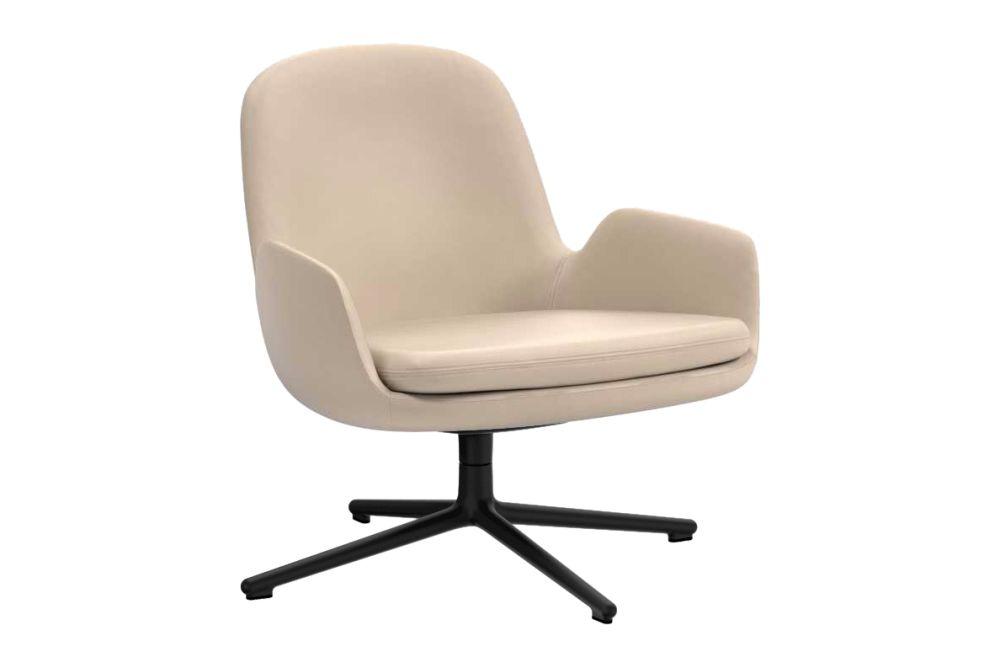 Fame 60078, NC Aluminium,Normann Copenhagen,Lounge Chairs,beige,chair,furniture,leather,line,office chair