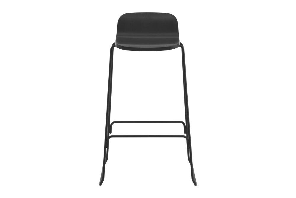 Oak, 65cm, Without backrest,Normann Copenhagen,Stools,bar stool,chair,furniture,stool