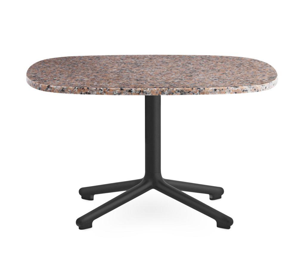 Grey, 60 x 48.5,Normann Copenhagen,Coffee & Side Tables,coffee table,furniture,outdoor furniture,outdoor table,table