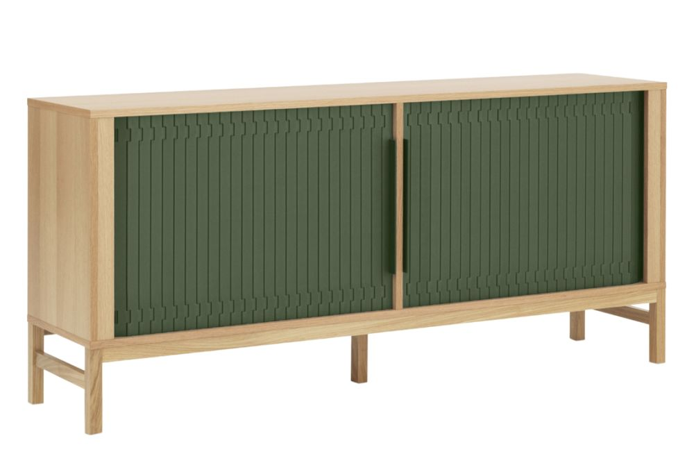 Dark Green,Normann Copenhagen,Cabinets & Sideboards,furniture,rectangle,sideboard,table
