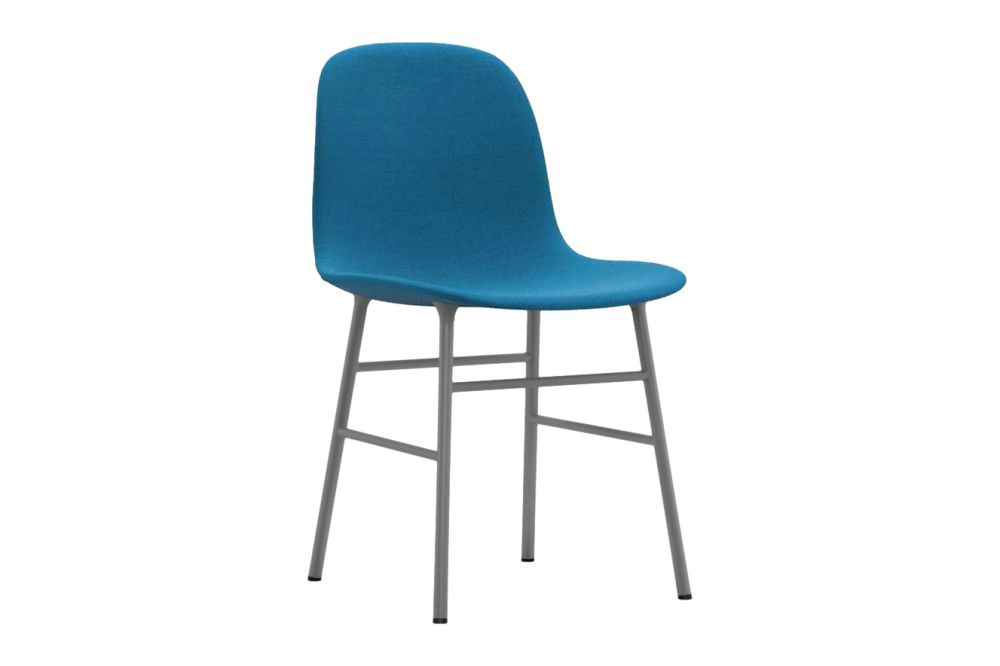 NC Black Lacquered Steel, Fame 60078,Normann Copenhagen,Dining Chairs,azure,chair,furniture,turquoise
