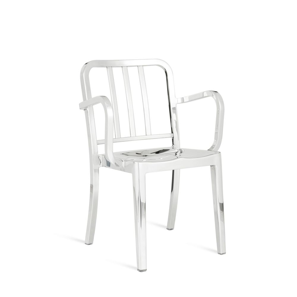 Hand Brushed,Emeco,Armchairs,chair,furniture,white