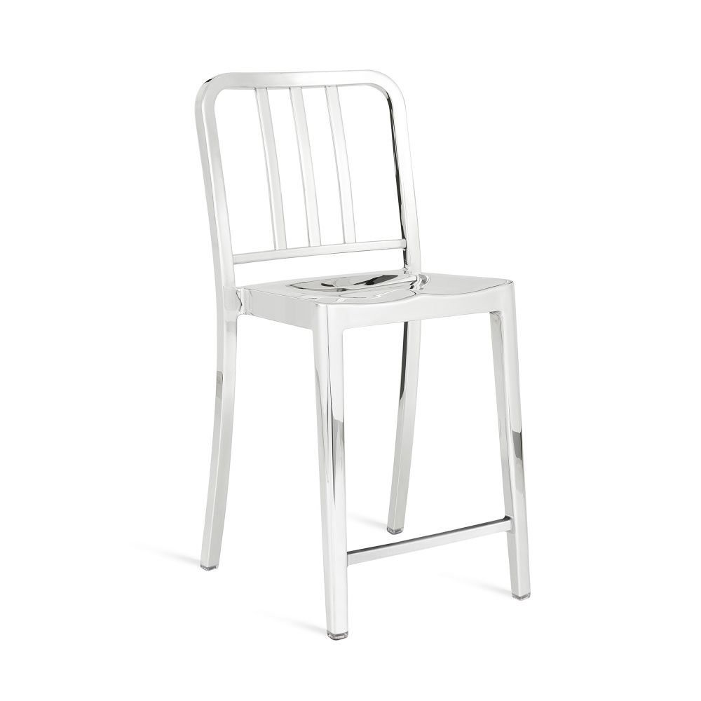 Hand Brushed,Emeco,Stools,chair,furniture,white