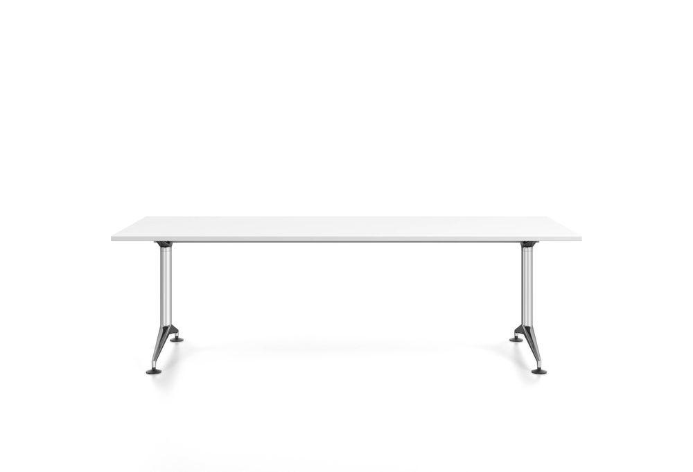 MedaMorph Rectangular meeting table by Vitra