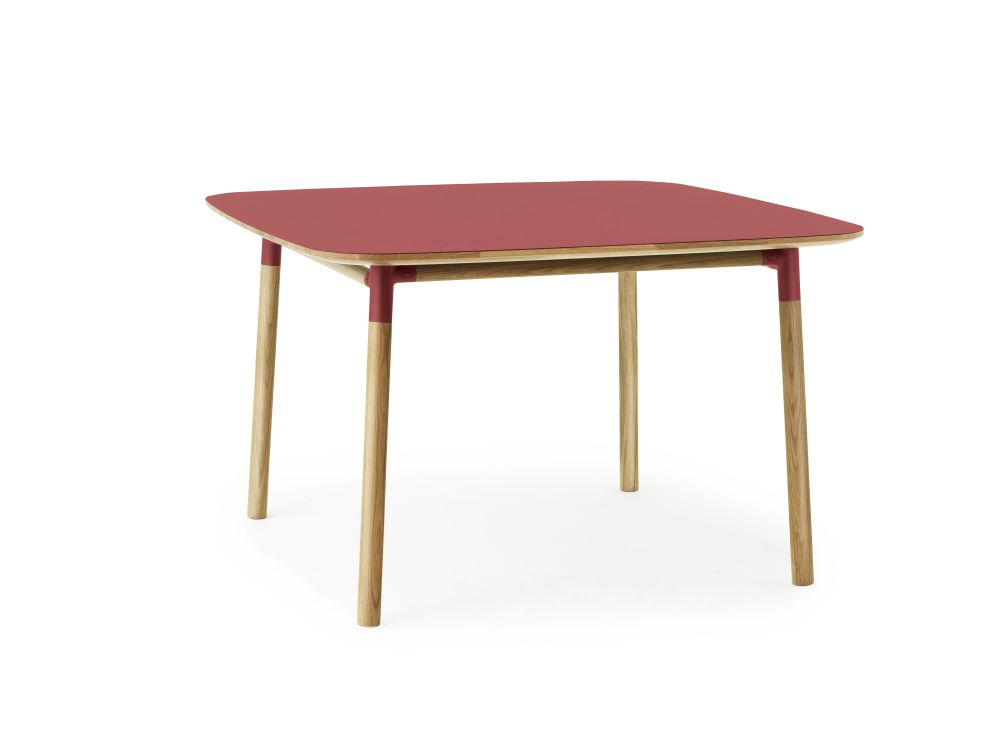 Red,Normann Copenhagen,Dining Tables,coffee table,desk,end table,furniture,outdoor table,rectangle,table