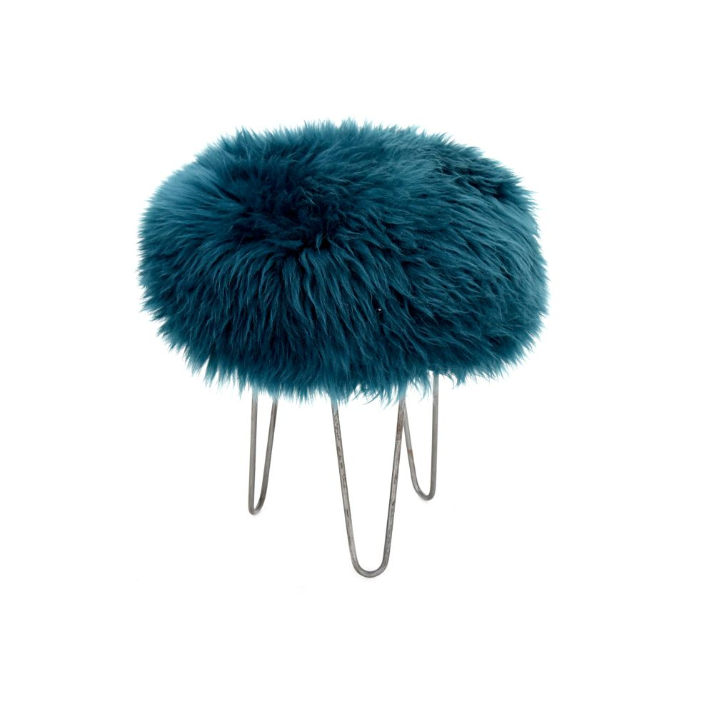 Holly - Sheepskin Footstool  by Baa Stool