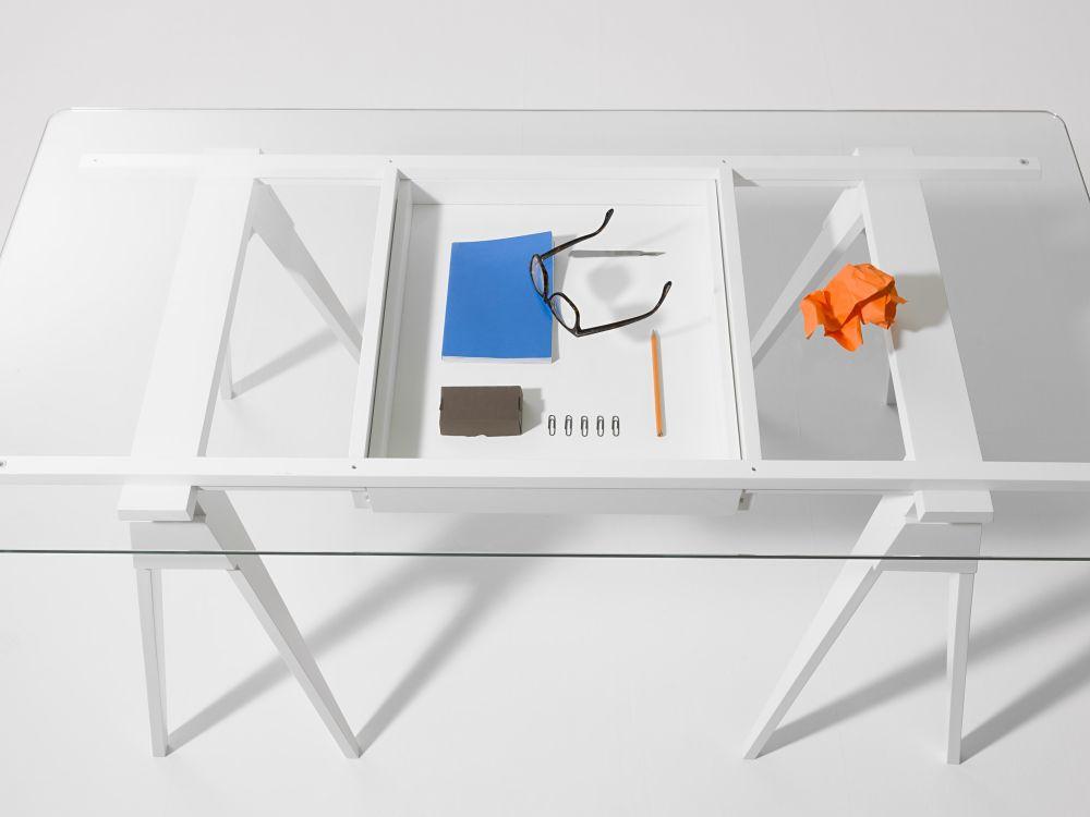 White,Design House Stockholm,Office Tables & Desks,design,desk,furniture,table