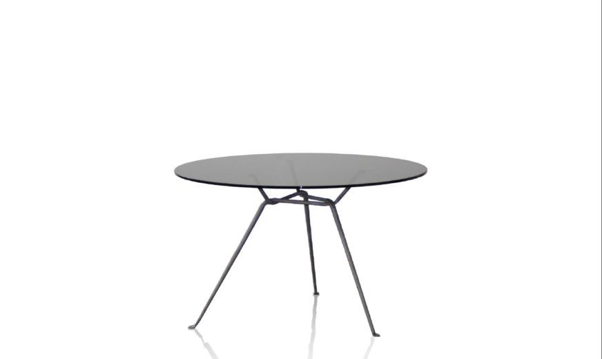Smoke Grey, Painted Black,Magis,Dining Tables,coffee table,furniture,outdoor table,table