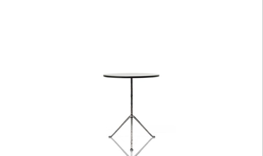 Carrara Marble White Top, Grey Anthracite 5142 Frame,Magis Design,Coffee & Side Tables,end table,furniture,line,table