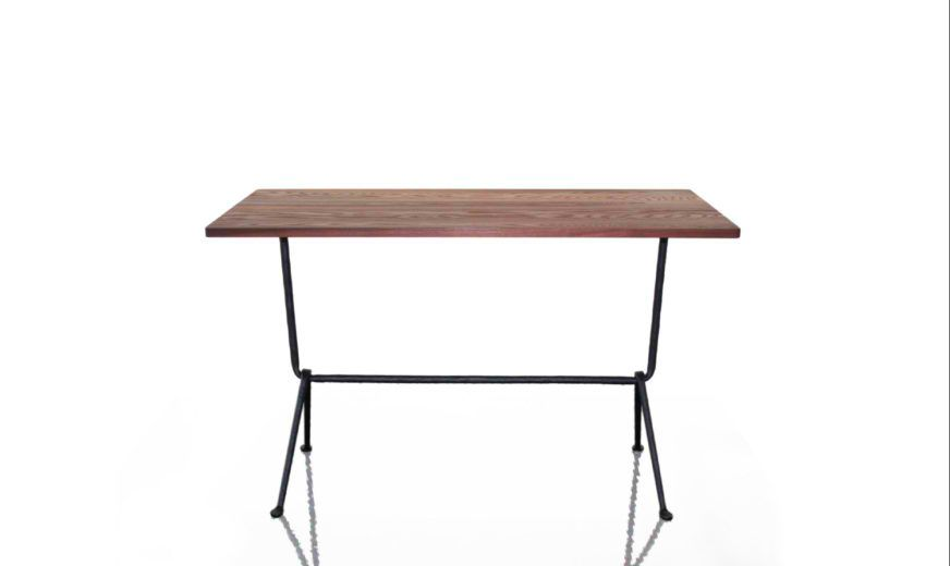Galvanized, Painted Black, 80cm,Magis Design,High Tables,desk,end table,furniture,outdoor table,rectangle,table