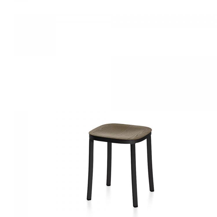 Dark Grey, Hand Brushed Aluminum,Emeco,Stools,bar stool,chair,furniture,stool,table