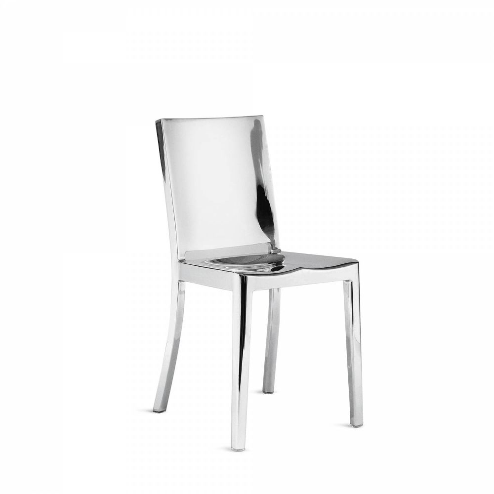 Hand Polished,Emeco,Dining Chairs,chair,furniture,white