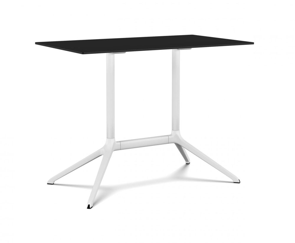 White, Black, 100 x 59 x 76cm,Kristalia,Tables & Desks,end table,furniture,outdoor table,table