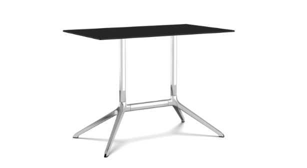 White, Black, 100 x 59 x 75cm,Kristalia,Tables & Desks,end table,furniture,outdoor table,table