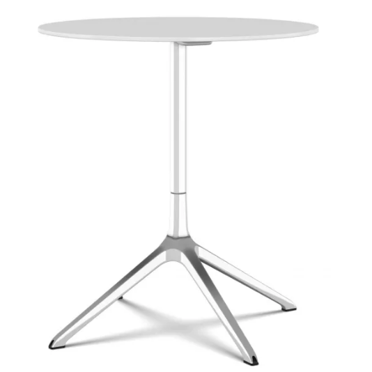 White, Black, 69 x 76cm,Kristalia,Tables & Desks,end table,furniture,outdoor table,table