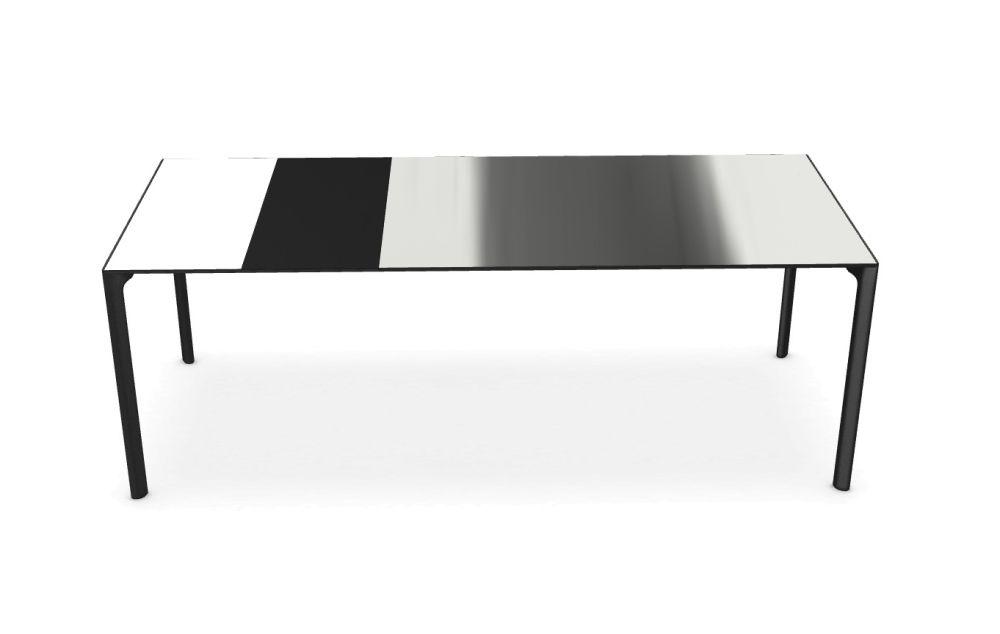 139-176-214, White, Gloss glass extra white, White, White,Kristalia,Tables & Desks,coffee table,design,desk,furniture,outdoor table,rectangle,table