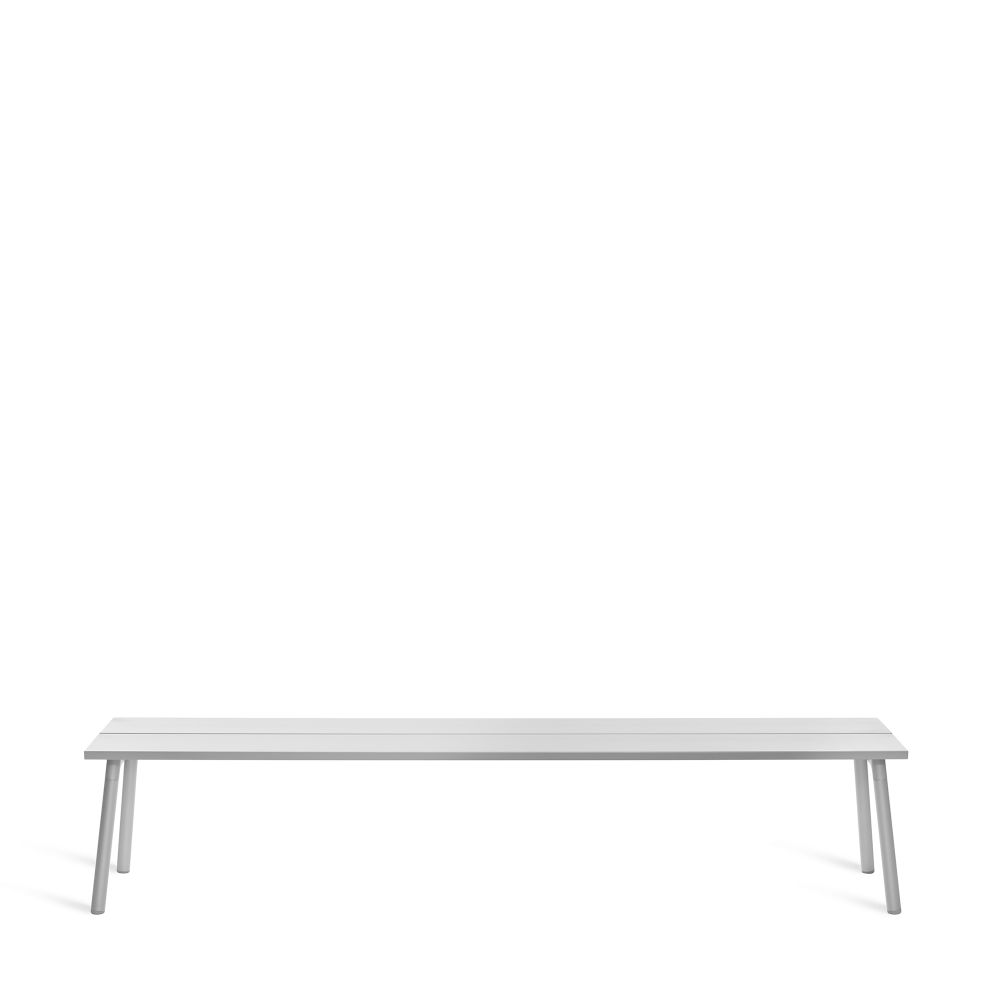 Ash, Aluminum,Emeco,Benches,furniture,rectangle,sofa tables,table