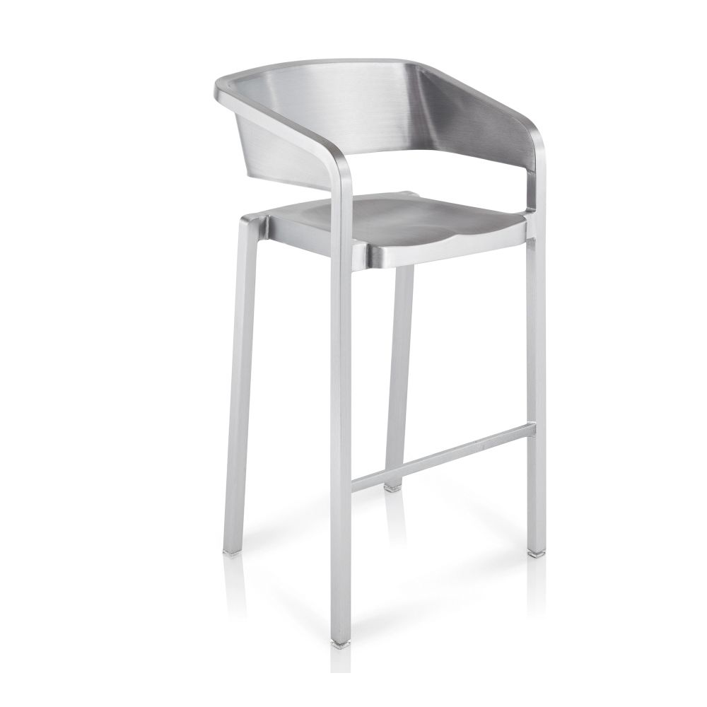 Hand-Brushed,Emeco,Stools,bar stool,chair,furniture,product,stool,table