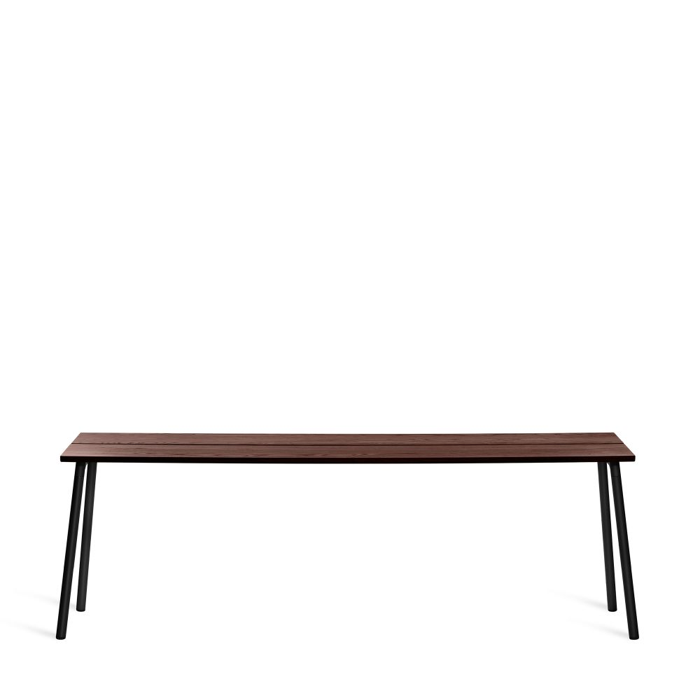 161.5cm, Clear Aluminium, Ash,Emeco,Coffee & Side Tables,coffee table,desk,furniture,outdoor bench,outdoor furniture,outdoor table,rectangle,sofa tables,table