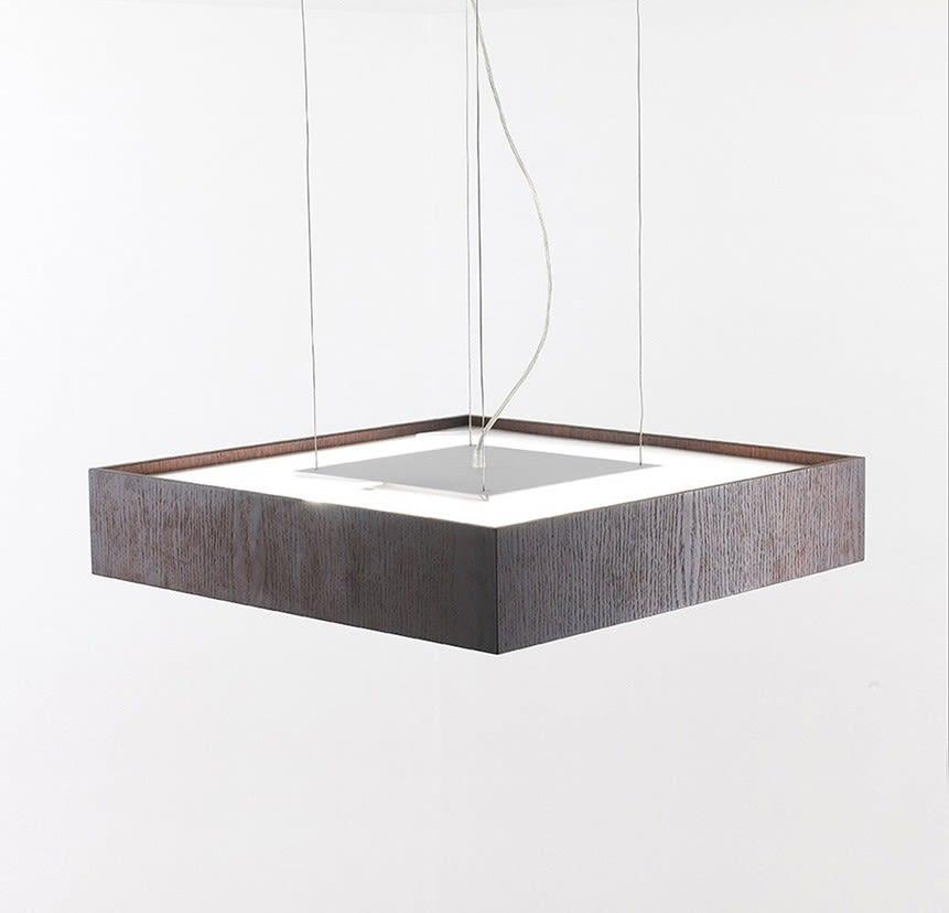 Quadrat 60x60 Suspension Lamp by B.LUX